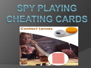 Contact lenses for cheating cards in bangalore