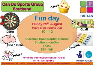 For more information contact Alicia on 01375 389869
