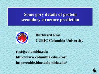 Some gory details of protein  secondary structure prediction