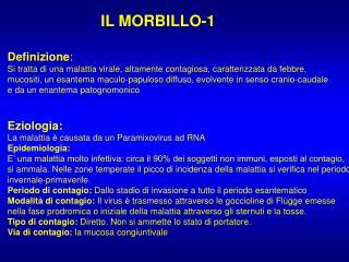 IL MORBILLO-1