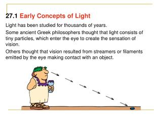 Light has been studied for thousands of years.