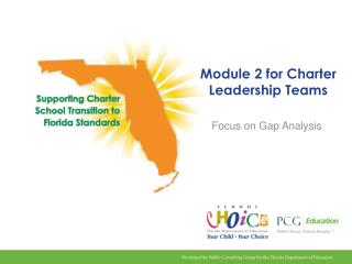 Module 2 for Charter Leadership Teams