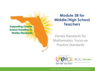 Module 3B for Middle/High School Teachers