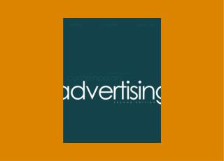 Developing Marketing and Advertising Plans