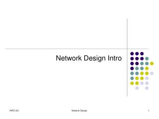 Network Design Intro