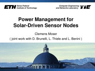 Power Management for Solar-Driven Sensor Nodes
