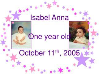 Isabel Anna