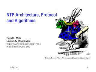 NTP Architecture, Protocol and Algorithms