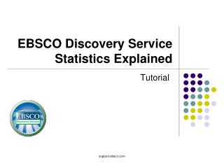 EBSCO Discovery Service Statistics Explained