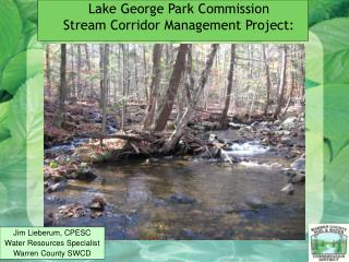 Lake George Park Commission Stream Corridor Management Project: