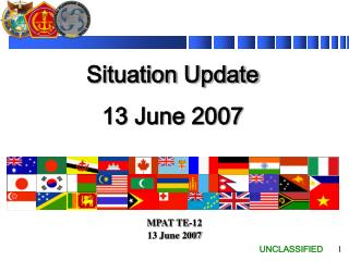 Situation Update 13 June 2007
