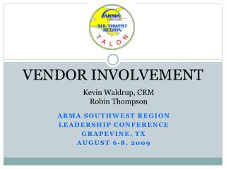 VENDOR INVOLVEMENT