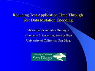 Reducing Test Application Time Through Test Data Mutation Encoding