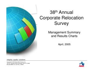 38 th  Annual  Corporate Relocation Survey