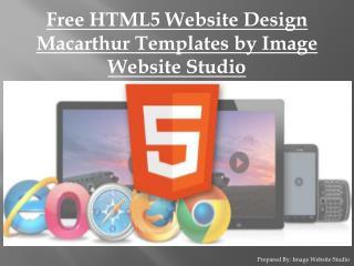 Best HTML5 Website Design Macarthur Templates by IWS