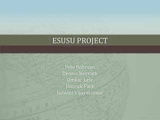 eSusu Project