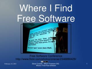 Where I Find Free Software