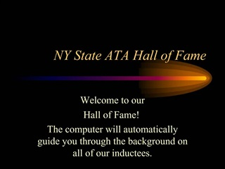NY State ATA Hall of Fame