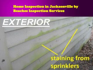 Home Inspection in Jacksonville by Beaches Inspection Servic