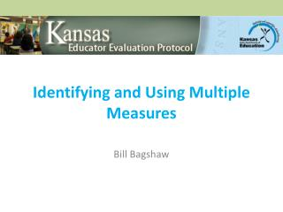 Identifying and Using Multiple Measures