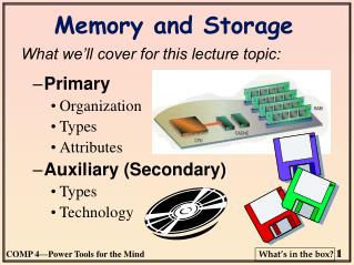 Memory and Storage