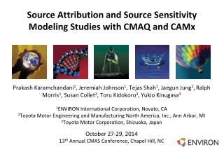 Source Attribution and Source Sensitivity Modeling Studies with CMAQ and CAMx