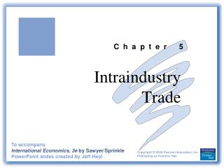 Intraindustry Trade
