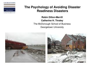 The Psychology of Avoiding Disaster Readiness Disasters