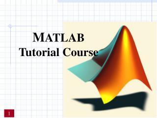 M ATLAB Tutorial Course