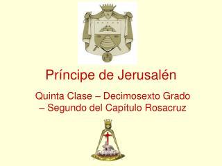 Príncipe de Jerusalén