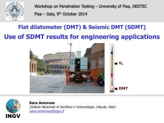 Workshop on  Penetration Testing  –  University of  Pisa, DESTEC Pisa – Italy, 9 th  October 2014