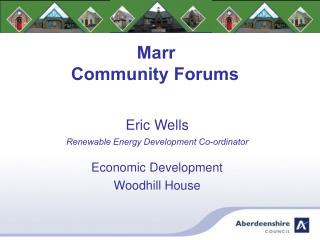 Marr Community Forums