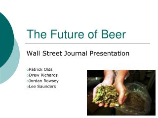 The Future of Beer