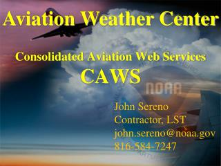 Consolidated Aviation Web Services CAWS