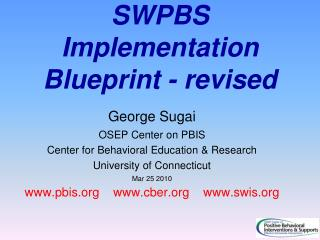 SWPBS Implementation Blueprint - revised