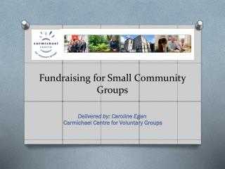 Fundraising for Small Community Groups