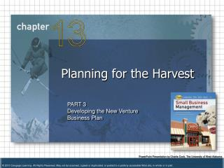 Planning for the Harvest