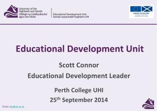 Educational Development Unit