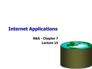 Internet Applications