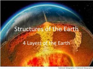 Structures of the Earth