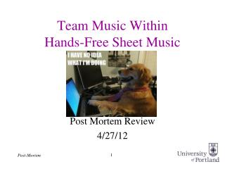 Team Music Within Hands-Free Sheet Music