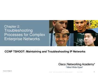 Chapter 2: Troubleshooting Processes for Complex Enterprise Networks