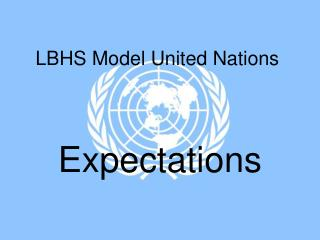 LBHS Model United Nations
