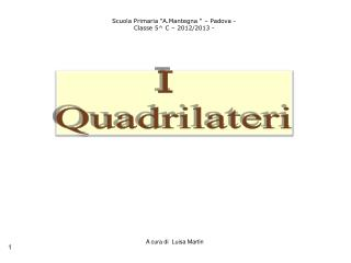I  Quadrilateri