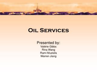 Oil Services