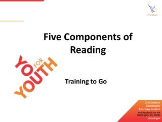 Five Components of Reading