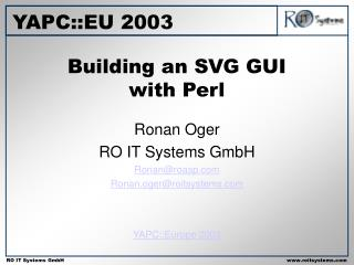 Building an SVG GUI with Perl