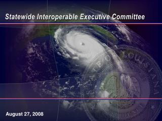 Statewide Interoperable Executive Committee