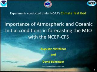Importance of Atmospheric and Oceanic Initial conditions in forecasting the MJO with the NCEP-CFS