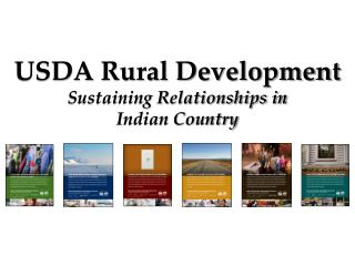 USDA Rural Development Sustaining Relationships in Indian Country
